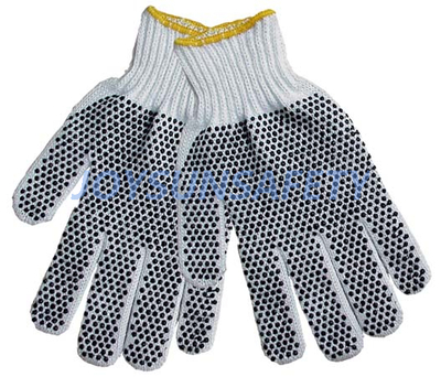 TCDP01 cotton knitted gloves