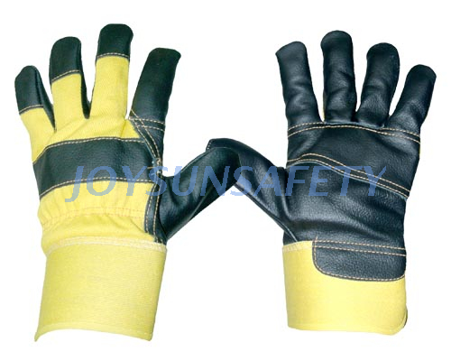 FYDR4 cheap furniture leather palm work gloves