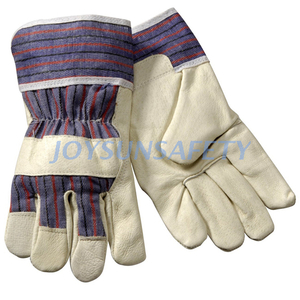 PA308 grain leather palm gloves